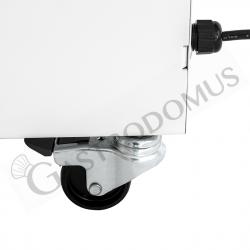 Impastatrice a spirale vasca estraibile - Capacità 48 LT - Trifase 400 V - 1 velocità