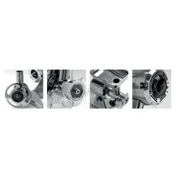 Tritacarne trifase con gruppo di macinazione in acciaio inox 300 kg/H