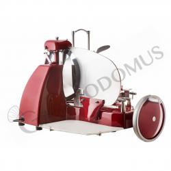 Affettatrice SEMIAUTOMATICA manuale ed elettrica con lama diametro 350 mm