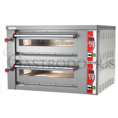 Forno elettrico per 8 pizze diametro 30/34 cm - 2 camere - controllo digitale