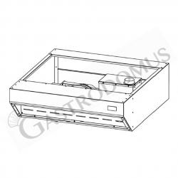 Cappa a condensazione modello KB4-44COND per forni pizza