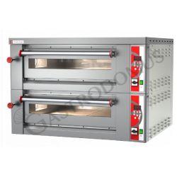 Forno elettrico per 18 pizze diametro 30/34 cm con 2 camere a controllo digitale