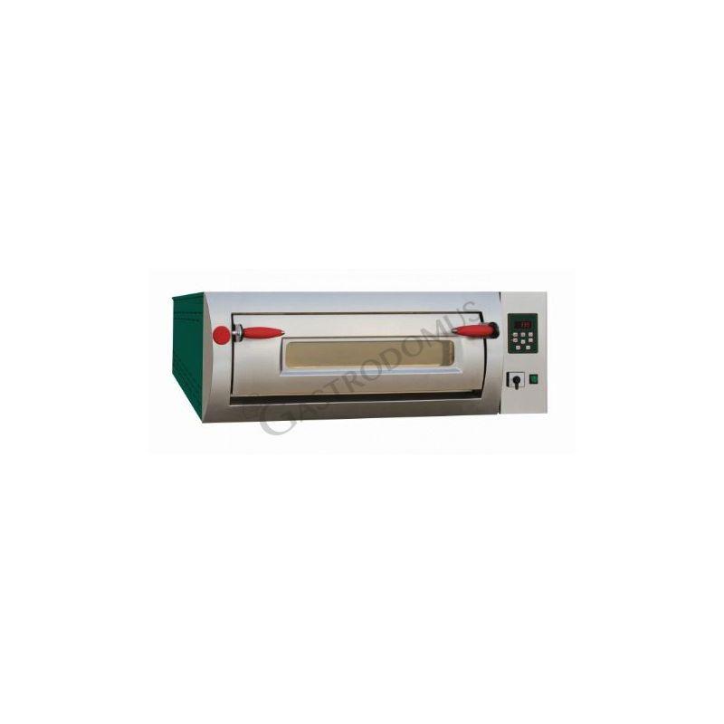 Forno elettrico per 6 pizze diametro 30/34 cm con 1 camera a controllo digitale
