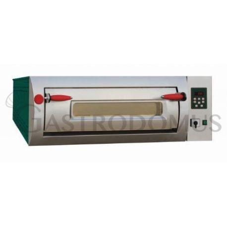 Forno elettrico Professional per 6 pizze diametro 30/34 cm - 1 camera - controllo digitale