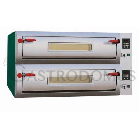 Forno elettrico Professional per 8 pizze diametro 30/34 cm - 2 camere - controllo digitale