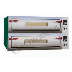 Forno elettrico per 12 pizze diametro 30/34 cm con 2 camere a controllo digitale