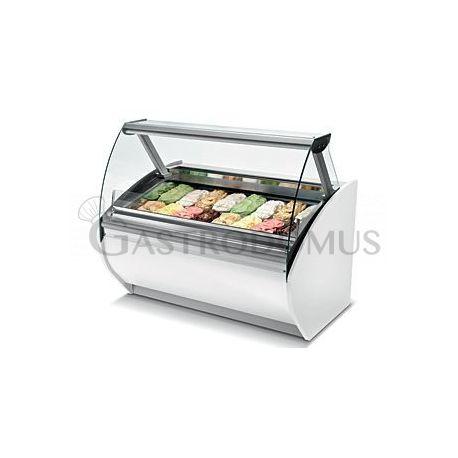 Vetrina gelato 20 vaschette L. 2000 - refrigerata ventilata