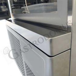 Abbattitore digitale con display touch screen 5 teglie GN1/1 o 5 griglie 60 x 40 cm - Resa abbattimento 20 Kg +70°C/+3°C