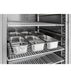 Armadio freezer per gelateria - capacità 900 LT - temperatura - 18° C/ - 25° C