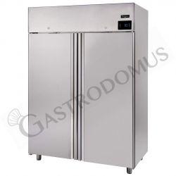Armadio refrigerato ventilato classe A capacità 1400 LT e temperatura -2°C/+10°C