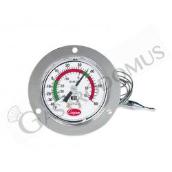 Termometro meccanico per celle da incasso