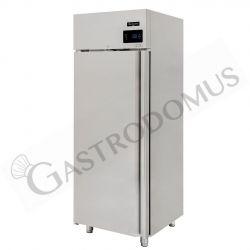 Armadio refrigerato ventilato classe A capacità 700 LT e temperatura 0°C/+10°C