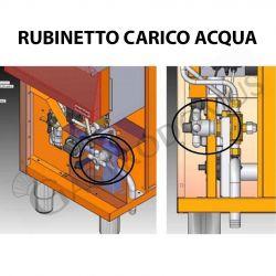 Cuocipasta professionale elettrico su mobile chiuso - 1 vasca - capacità 40 LT
