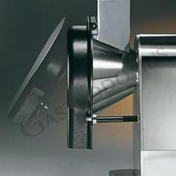 Tagliamozzarella professionale monofase per sfilacci-fette-julienne - potenza 0,21 kW