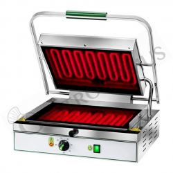 Piastra cottura vetroceramica liscia - L 490 mm x P 450 mm x H 190/600 mm