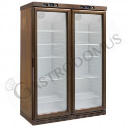 Cantinetta per vini refrigerazione statica - capacità 310 LT + 310 LT - temp. +2°C/+8°C
