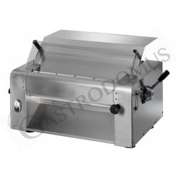 Sfogliatrice elettrica professionale trifase L 780 mm x P 480 mm x H 400 mm con rulli in acciaio inox 520 mm