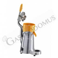 Spremiagrumi elettrico a leva in lega di alluminio satinato - 1450 rpm