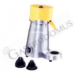 Spremiagrumi elettrico in lega di alluminio satinato - tripla pigna - 1800 rpm