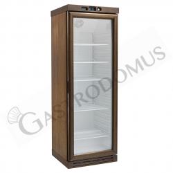 Cantinetta per vini refrigerazione statica - capacità 310 LT - temp. -18°C/-22°C noce scuro