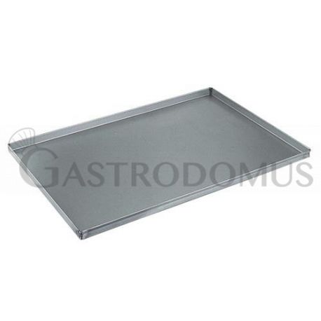 Teglia quadrata in alluminio 600 mm x 400 mm - altezza 40 mm