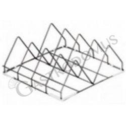 Griglia porta teglie 4 posti - 50 cm x 50 cm x 20 cm