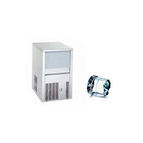 Produttore di ghiaccio kg 20/24h cubetto pieno