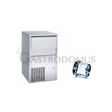 Produttore di ghiaccio monofase kg 45/24h cubetto pieno