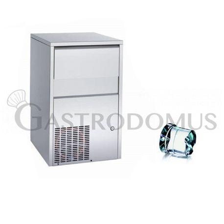 Produttore di ghiaccio kg 50/24h cubetto pieno