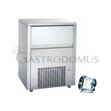Produttore di ghiaccio kg 115/24 h cubetto pieno