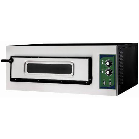 Forno 1 pizza diametro 32 cm - porta vetro - temperatura 500°C - controllo meccanico