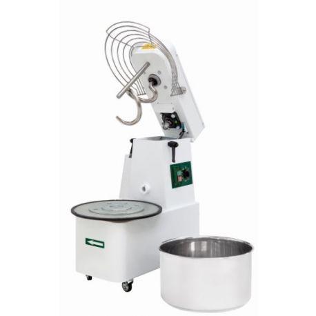 Impastatrice a spirale vasca estraibile - Capacità 48 LT - Monofase 230 V - 1 velocità