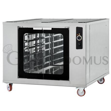 Cella di lievitazione riscaldata6/66 - per 12 teglie - L 110 cm - H 90 cm