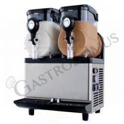 Macchina per sorbetto e granite con 2 vasche - capacità 5 + 5 LT - potenza 560 W