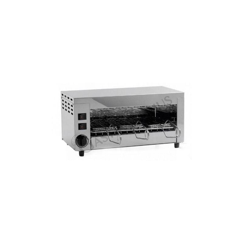 Fornetto in acciaio inox per toast e panini con 3 pinze - monofase - potenza 1,9 kW