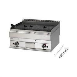 Griglia a gas e pietra lavica da banco - Serie 650