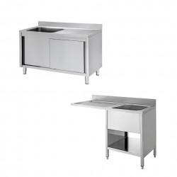 Tavoli e Lavelli Professionali In Acciaio Inox