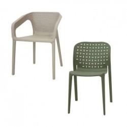 Sedie In Plastica E Polipropilene