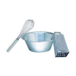 Utensili da cucina in acciaio inox