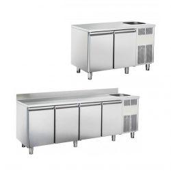 Tavoli refrigerati GN1/1 con lavello