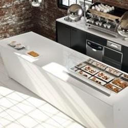 Banconi Bar In Metallo Verniciato Bianco