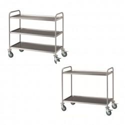 Carrelli Di Servizio In Acciaio Inox - Catalogo & Shop Online