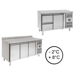 Tavoli refrigerati TN (temp.normale 0°C + 10°C)