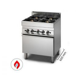 Cucine a gas con forno - Serie 600
