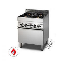 Cucine a gas con forno - Serie 650