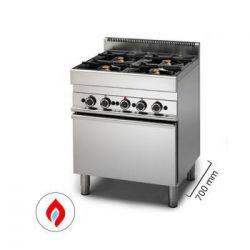 Cucina a gas con forno - Serie 700