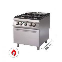Cucine a gas con forno - Serie 900