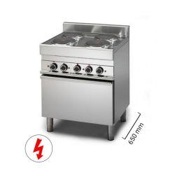 Cucine elettriche con forno - Serie 650
