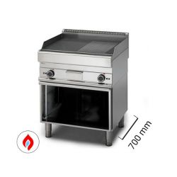 Fry top con mobile a gas - Serie 700