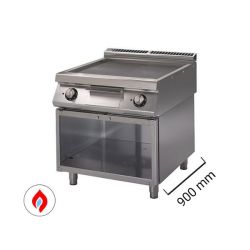 Fry top con mobile a gas - Serie 900